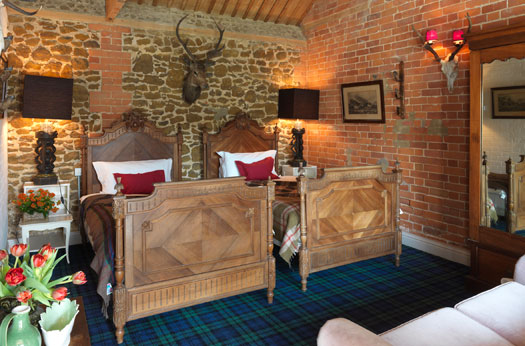 The Scottish Cabin, Twin or Super King at Ash Tree Barns Holiday Home, Narborough, Norfolk