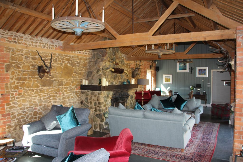 Living Room Barn at Ash Tree Barns, Narborough, Norfolk