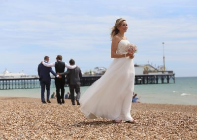 Annie's wedding, Brighton, Photo by Barry Holder Photography