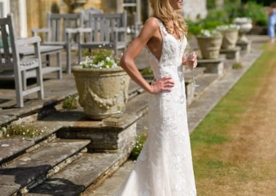 Bride styled by Claire Wallace, photo by Matt Heath