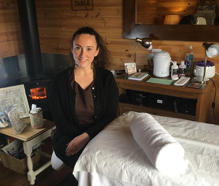 Vickie beauty therapist at Ash Tree Barns