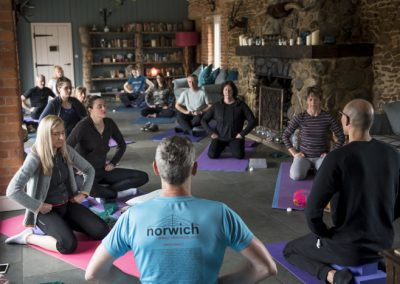 Yoga Retreat at Ash Tree Barns
