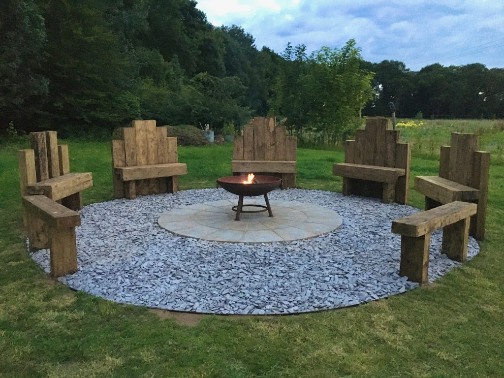 New Fire Pit 2020