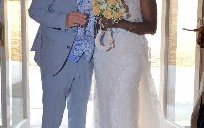Peter and Undine's mini wedding.